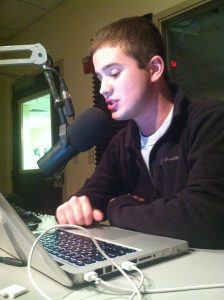 On air on 88.7 WICR