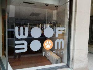 Woof Boom Radio Window Lafayette